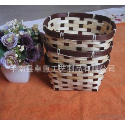 现货竹编鸡蛋篮筐|广西竹工艺品厂常年低价生产编织篮|竹编果篮
