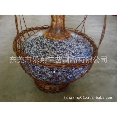 [工厂]植物编织工艺品/酒瓶护套/竹编瓶套/瓶套