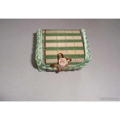 湘越【厂家直销】工艺品化妆箱/杂物收纳箱/竹编首饰盒/礼品盒 【直销】工艺品化妆箱/杂物收纳箱