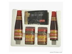 崔字牌香油麻汁礼盒(2瓶218香油+2瓶200g芝麻酱+2袋50g黑芝麻) 植物原药材