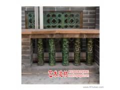 佛山红色古都厂家直销园林艺术建材釉面陶瓷花窗 陶瓷