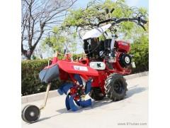 果园开沟机 手扶式旋耕除草机 农用工具开沟培土机