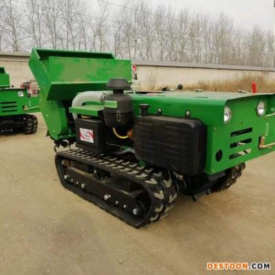 果园苗木施肥机 履带式开沟培土春耕机 履带式肥料开沟施肥回填机宇佳
