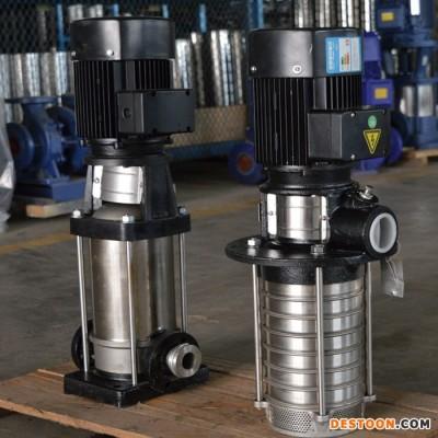 智能变频恒压变频QDL不锈钢多级泵工业高层农业工地建筑智能泵