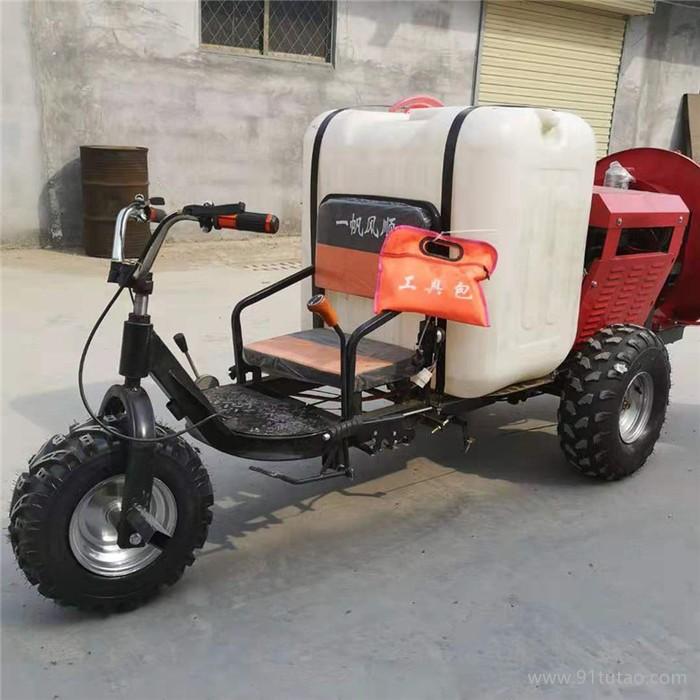 启航驱虫设备 手推式打药机 林业农用高压喷雾器
