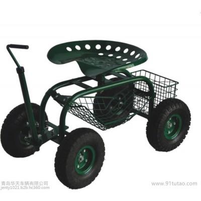 华天或OEM,各种园林座椅车、花园草坪座椅车 其他园艺用具 手推车