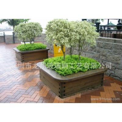 玻璃钢园艺花盆  玻璃钢商场花盆 绿化园林工程用具花盆