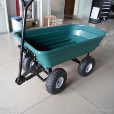 各种各样园艺用具、花园工具车、园林拖车、园艺翻斗车、工具车