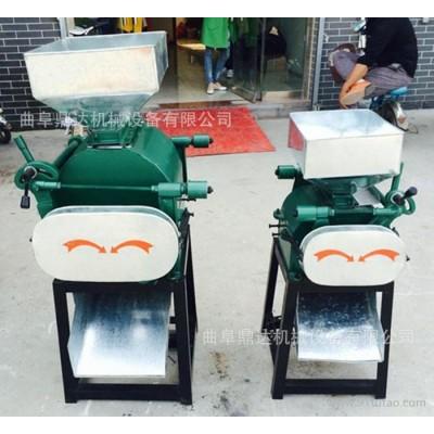 立式环保粮食挤扁机   家用小型豆类粮食作物挤扁机  农业机械