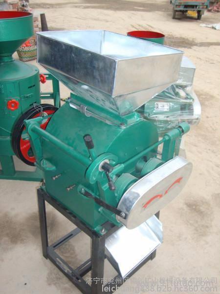 粮食加工机械设备黄豆挤扁机轧胚机食品机械豆制品挤扁机