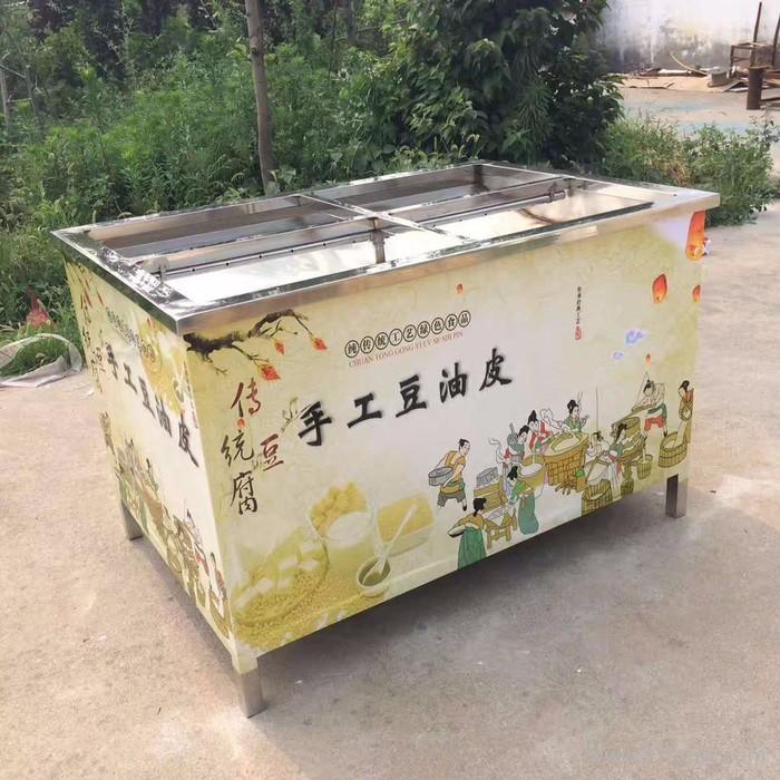 腐竹油皮机 不锈钢家用油皮机 豆制品机械设备