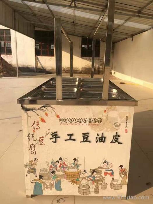 厂家热销 豆制品加工机械设备 手工豆皮机 酒店腐竹油皮机