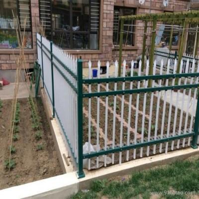 德誉园艺护栏 园艺栏杆 小区栏杆 锌钢花坛栅栏杆