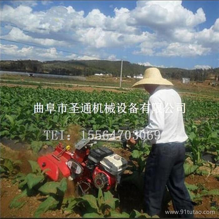 时令蔬菜种植开沟培土机 畦面茄子覆地膜封土机 农用手扶式开沟机