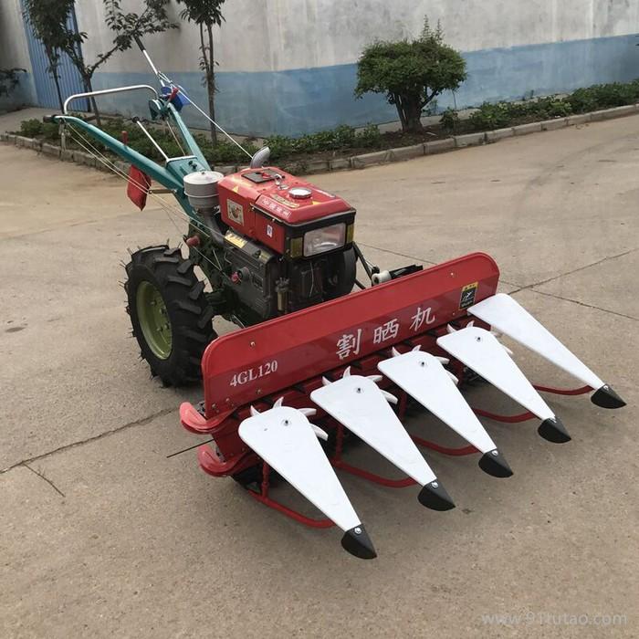 农用割晒机农用新款割晒机四轮农用割晒机