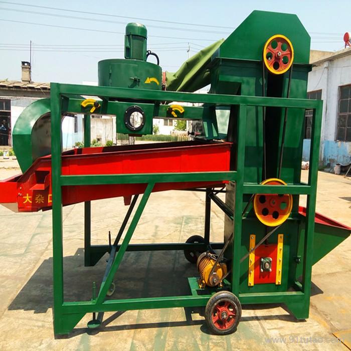 经济实用型农作物除杂筛选机 油料作物除尘碎屑清理筛