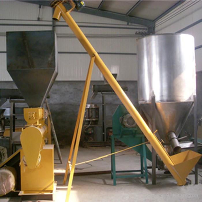 油料作物耐高温螺旋提升机  定制化工厂物料垂直提升机