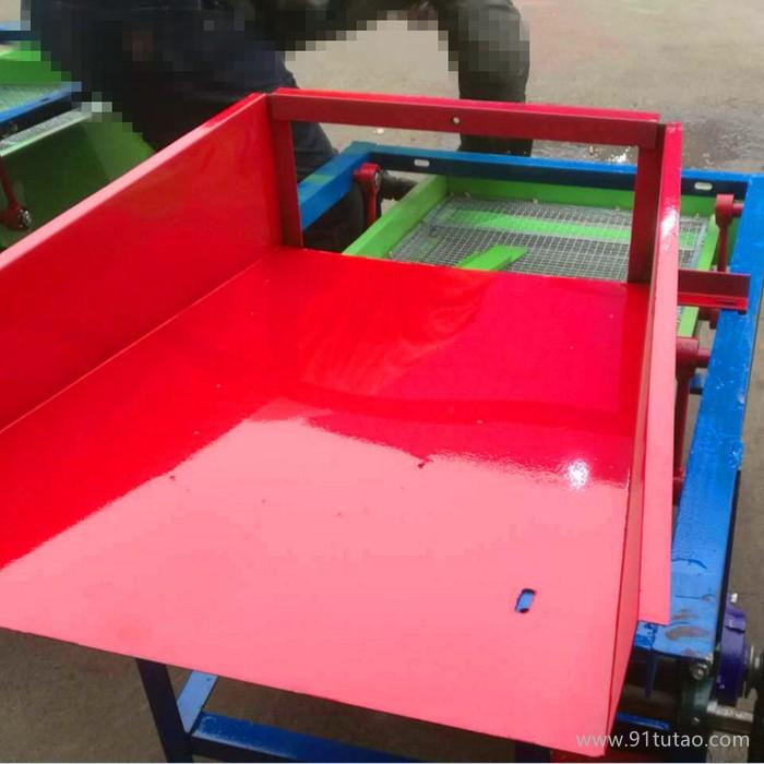 小型粮食筛选机 油料作物除杂振动筛 大豆小麦电动清选机