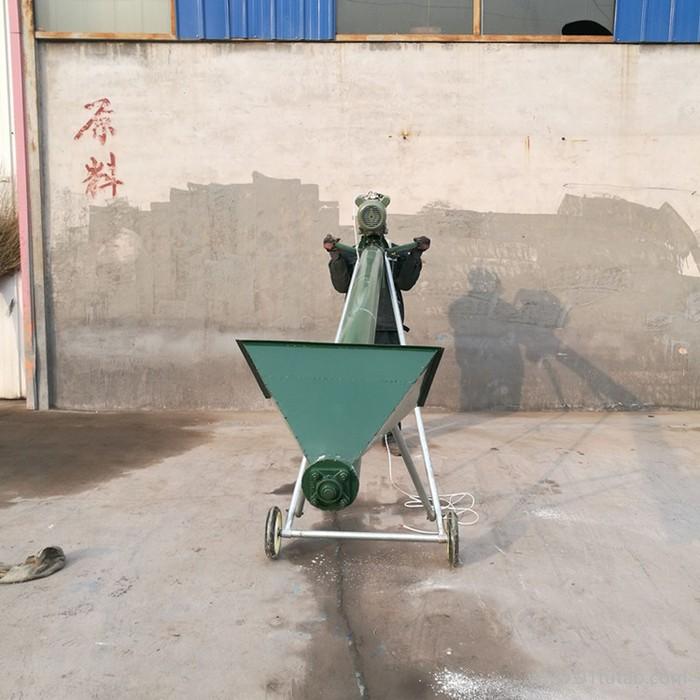 全密封粉料输送机   耐高温油料作物输送机