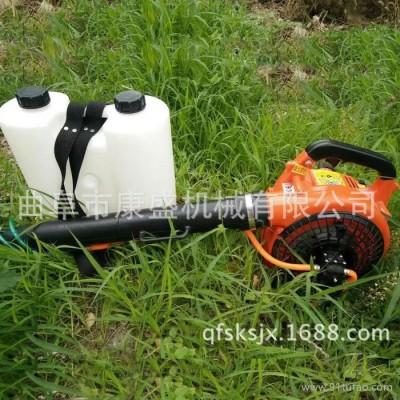 直销花卉观赏花木除虫便于携带好操作的汽油动力手提风力喷雾机