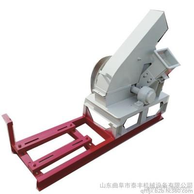 泰丰园林观赏花卉树枝切片机 大型秸秆粉碎机 小型玉米粉碎机