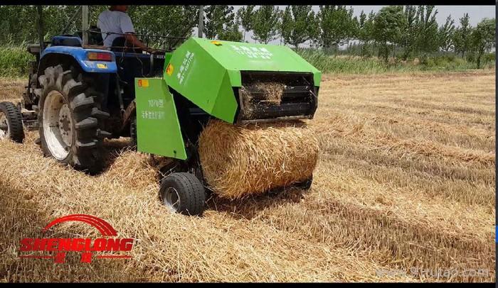 5080稻草秸秆捡拾打捆机 理想农具