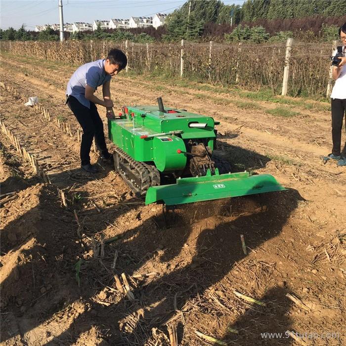 启航 小型农业开沟机施肥机 自带五套农具除草施肥机