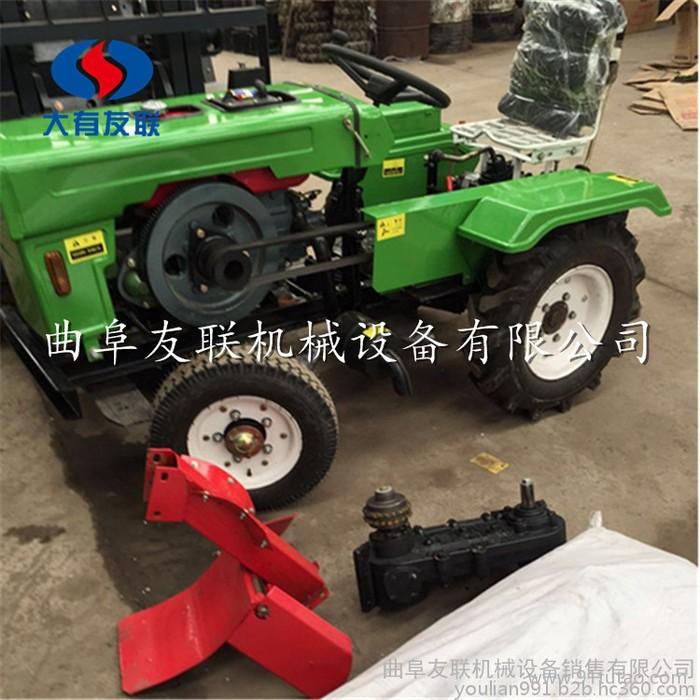 28马力低矮四轮旋地机 可配套各种农具  多功能管理机