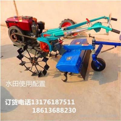 菜园旋耕机小型除草机视频 可配多种农具的旋耕机HQ