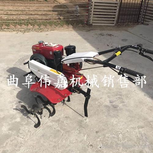 深浅可调旋耕机柴油管理机 可配多种农具的旋耕机