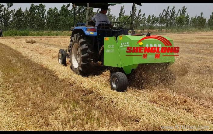 2016年 行走式秸秆打捆机 现代农具