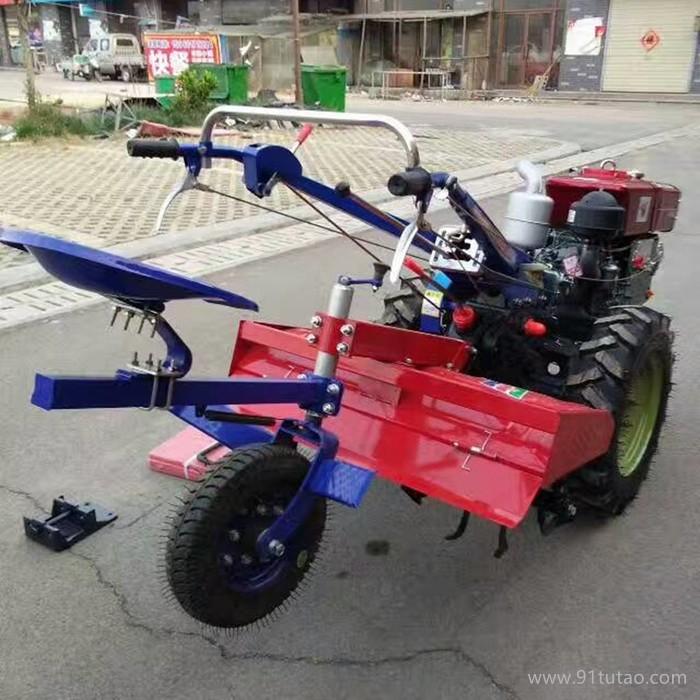 配套手扶开沟机,小型手扶及配套农具,厂家直销多型号旋耕机