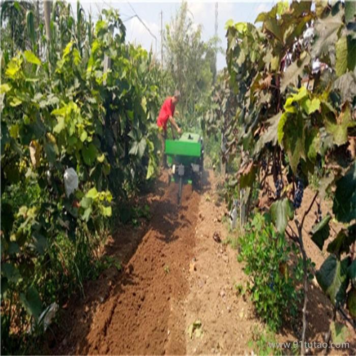 履带果园施肥开沟回填机 自带五套农具