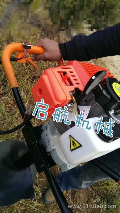 优质林业挖坑机 林业汽油植树挖坑机 拖拉机带挖坑机