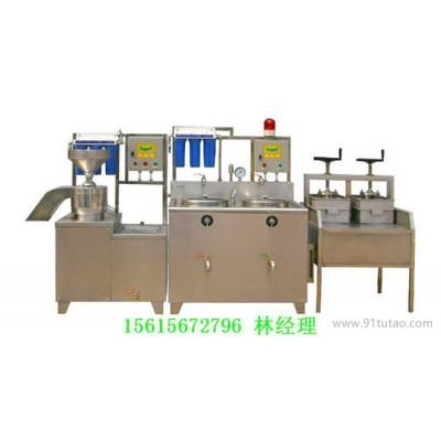 仿手工豆腐机 豆制品机械价格 豆腐加工机械设备A
