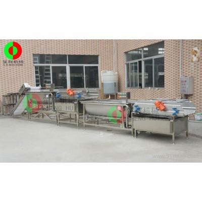 涡流式洗菜机  叶菜类清洗机  清洗生产线