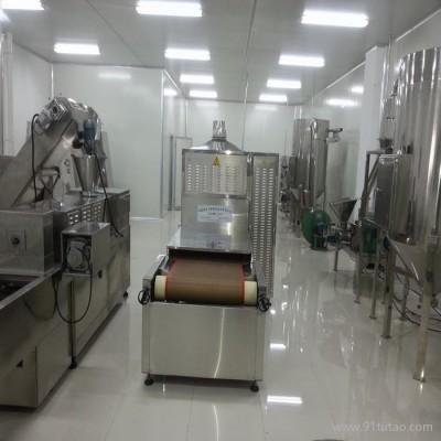 山东立威专业生产山野菜微波烘干杀菌设备