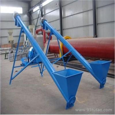 谷类粮食蛟龙给料机价格  可移动螺旋输送机