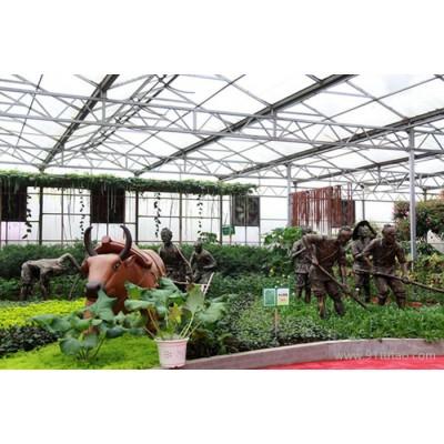 禄丰农业工程承建生态农业温室
