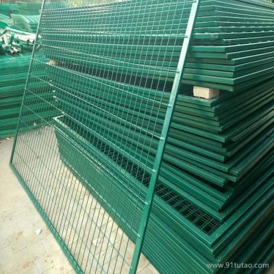 农场边框铁丝网 新型方管农场铁丝网 农场防盗铁丝网 可加工生产