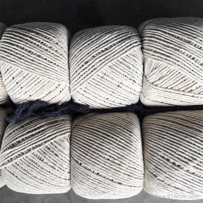 新款大闸蟹专用绳 大闸蟹捆扎用棉绳 大闸蟹棉绳