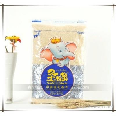 供应圣白象泰国莲花香米5Kg
