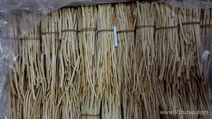 中草药类  供应内蒙带皮沙参  植物原药材