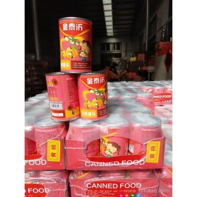 厂家批发425g金泰沂牌黄桃易拉罐罐头 工艺精湛,配方独特,口味纯正,深得广大用户的认可与赞赏  罐头厂家  罐头批发