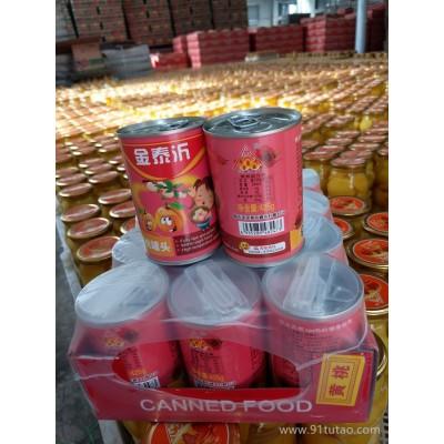 厂家批发金泰沂牌425g黄桃易拉罐罐头  保质保量,服务优良     罐头厂家   罐头批发
