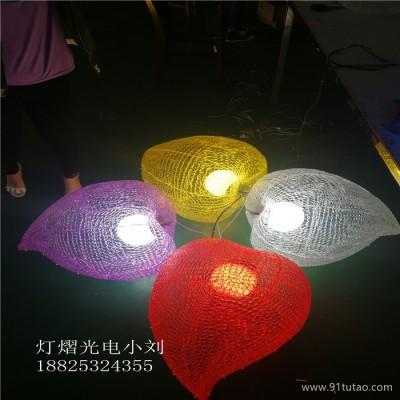 灯熠光电DY-653 桃子造型灯 道路美化桃子灯挂件 园林亮化发光桃子灯