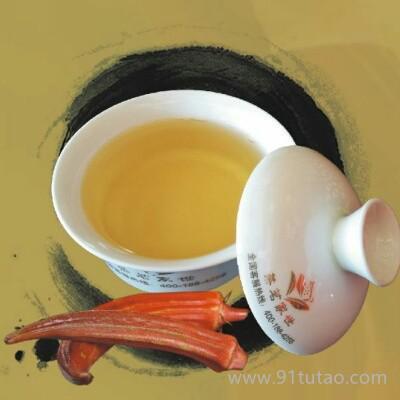 金秋葵养生茶降血糖降三高糖尿病的克星,男女老少香气独特养生饮品