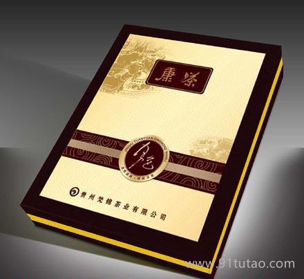 长沙茶包装黑茶盒子定做 黑茶包装盒印刷 环保包装盒定制