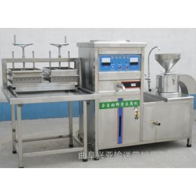 豆渣豆腐机提供技术 电动石磨豆腐机有卖