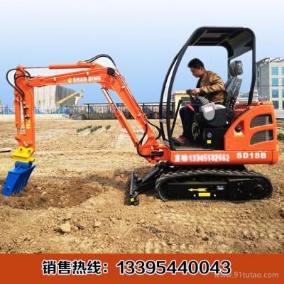 广东工地灵活的小型挖掘机  多功能农用小型勾机多钱 小挖机lovol
